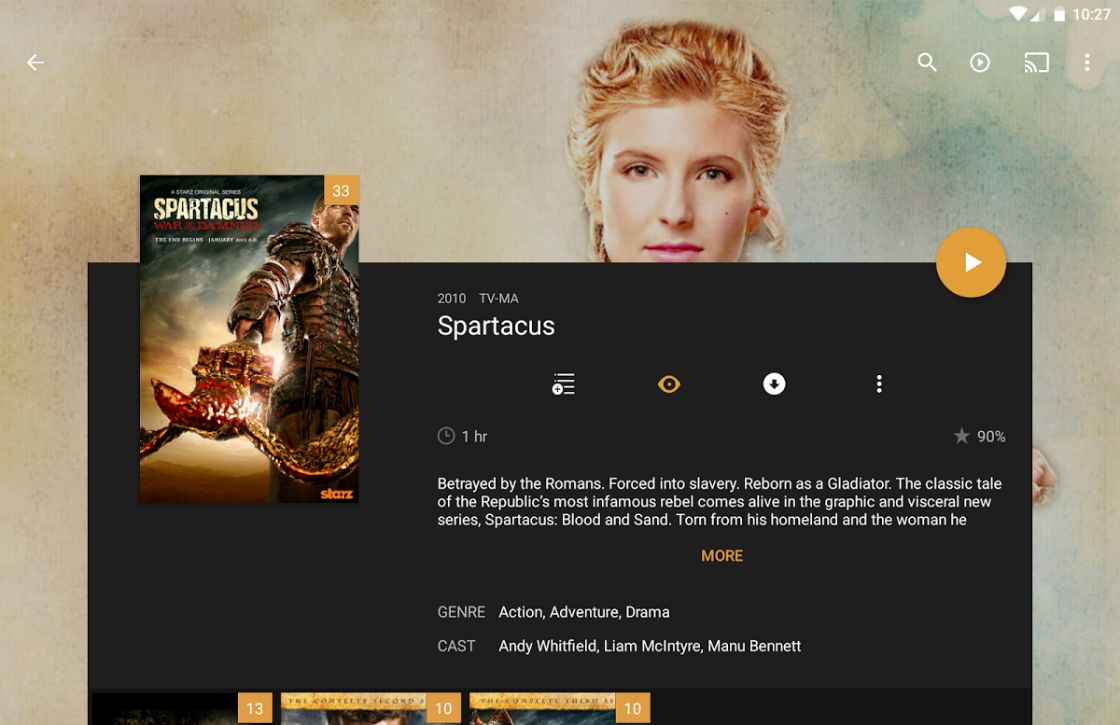 Mediaspeler-app Plex geüpdatet met fraai Material Design