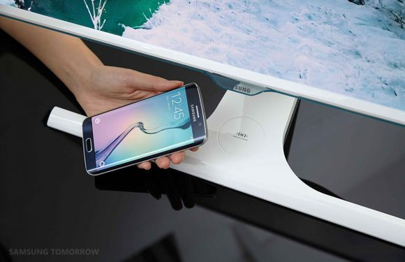Deze Samsung-monitor kan je smartphone draadloos opladen
