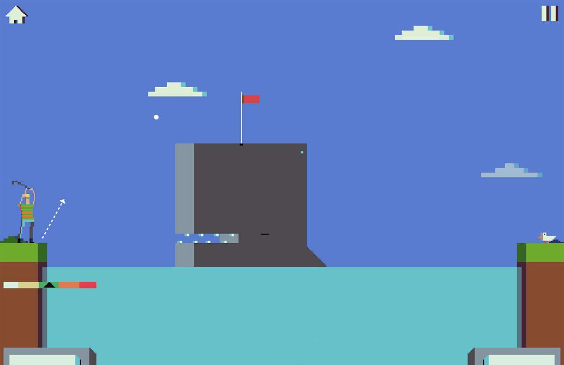 Battle Golf: geinige 8-bit golfgame met een twist