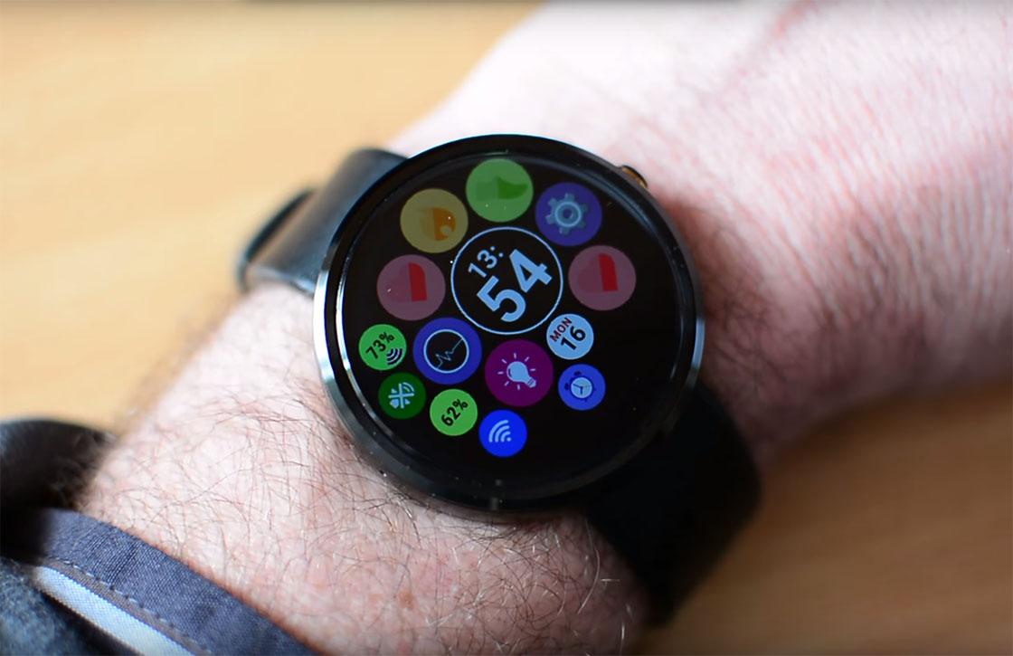 Deze app tovert je Android Wear-horloge om tot een Apple Watch