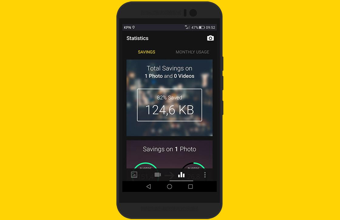 Crunch Gallery: handige foto-app laat je opslagruimte besparen