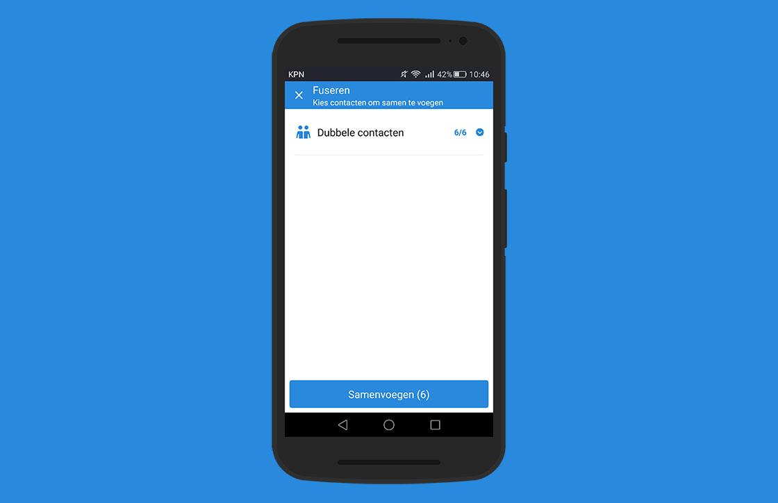 In 4 stappen dubbele contacten samenvoegen op je Android