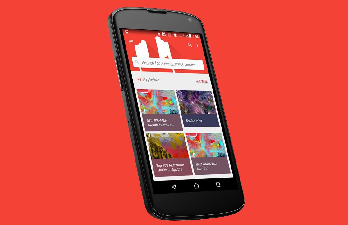 Encore combineert online en offline muziek in prachtig design