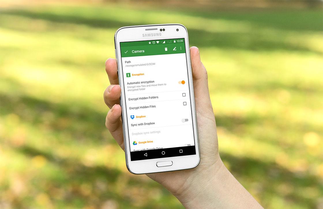 Fileseal versleutelt automatisch je bestanden op je Android