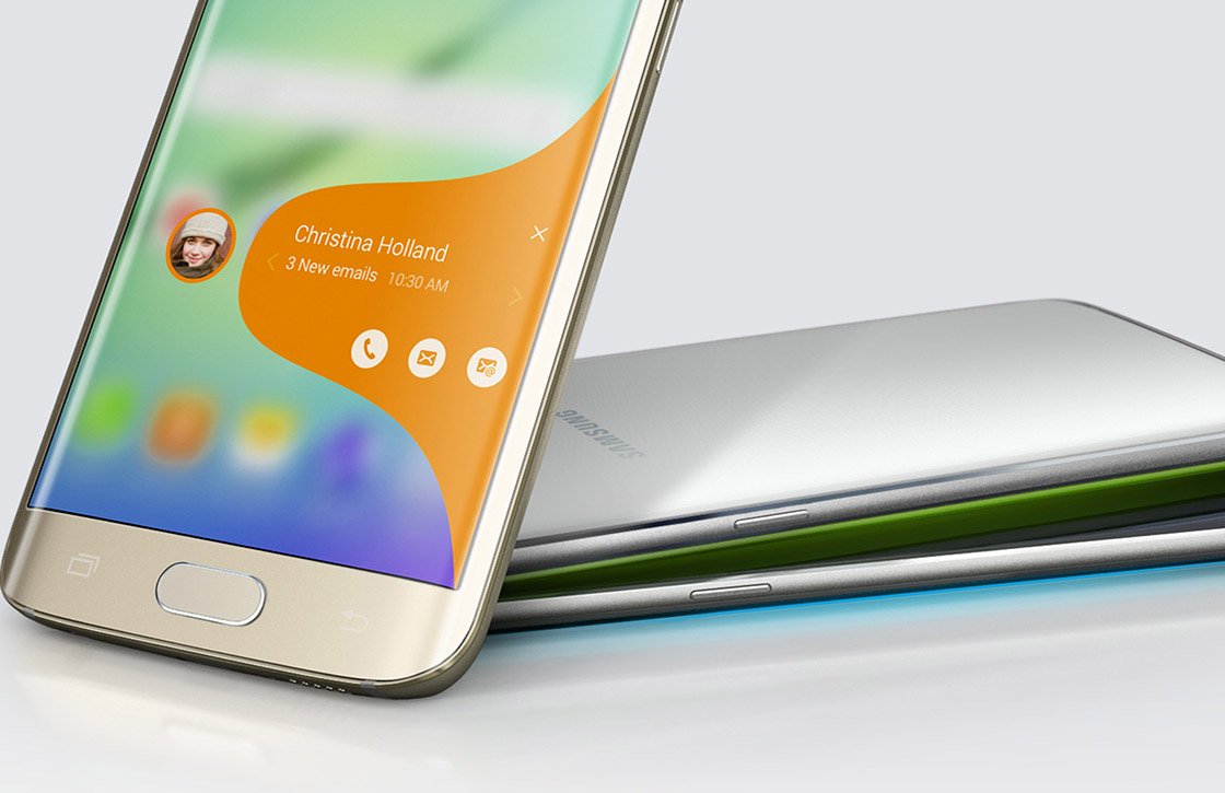 'Galaxy S6 Edge+ krijgt nieuwe functies voor gebogen schermrand'