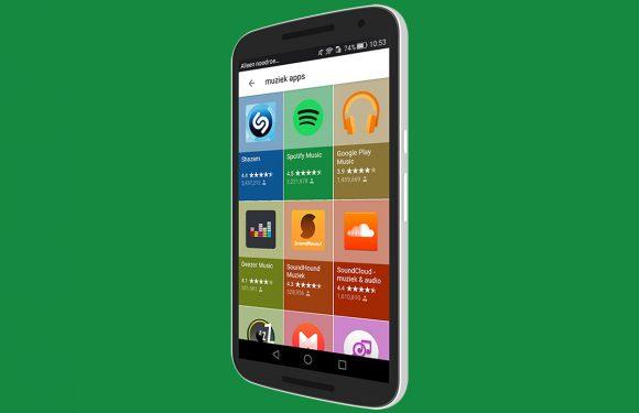 Zoekresultaten Google tonen apps op fraaie manier