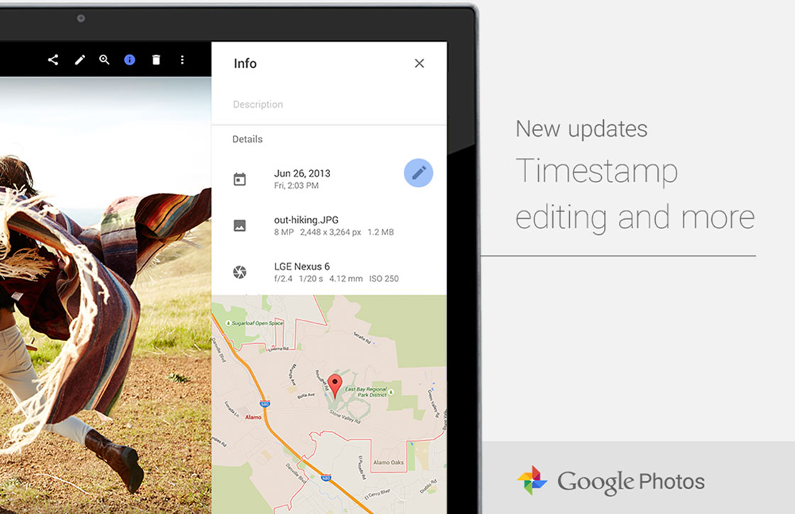 Handig: Google Foto's laat je nu de tijd bij foto's aanpassen