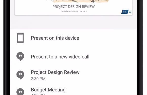 Handig: Google Presentaties laat je nu presenteren via Hangouts