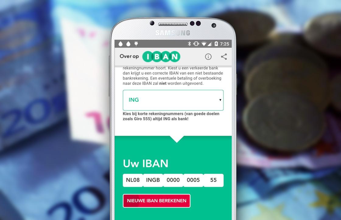 Officiële IBAN-tool laat je gemakkelijk IBAN nummers omzetten