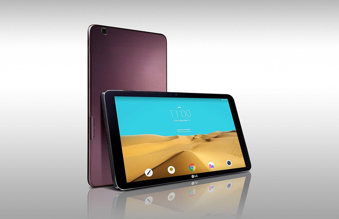 LG G Pad II 10.1 aangekondigd: grote tablet met Android 5.1.1