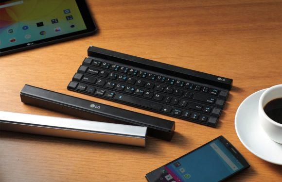 LG onthult opvouwbaar keyboard voor je mobiele gadgets