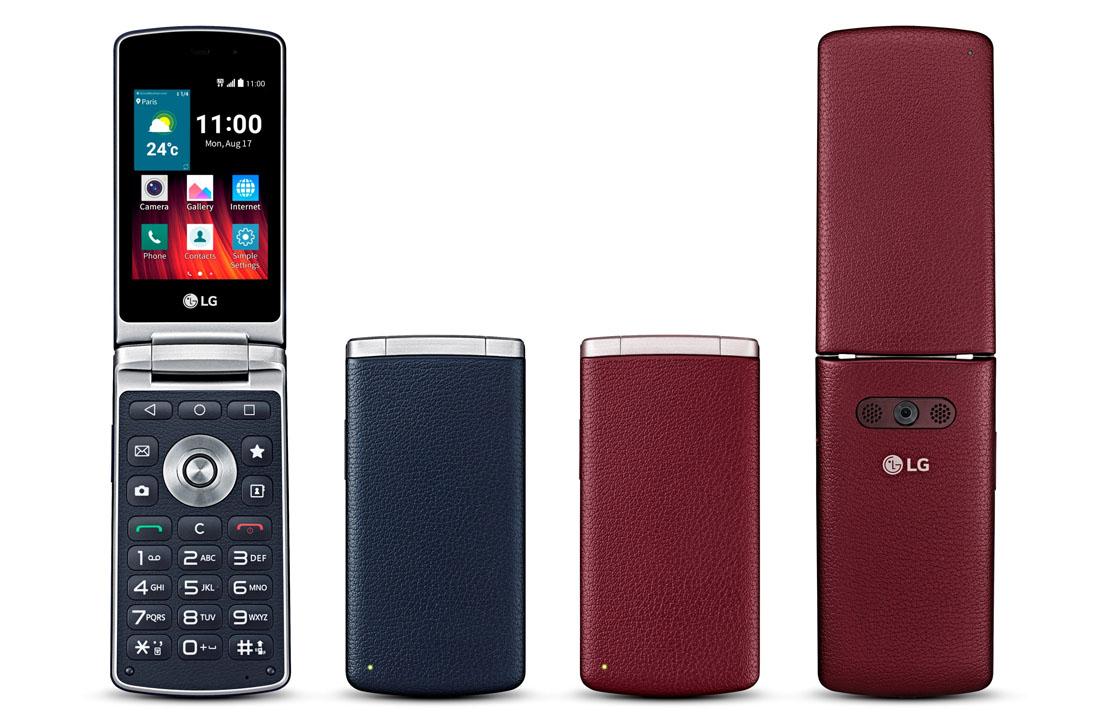 Clamshellsmartphone van LG krijgt Nederlandse release