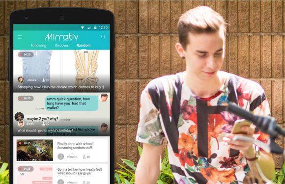 Mirrativ laat je overal het scherm van je Android livestreamen