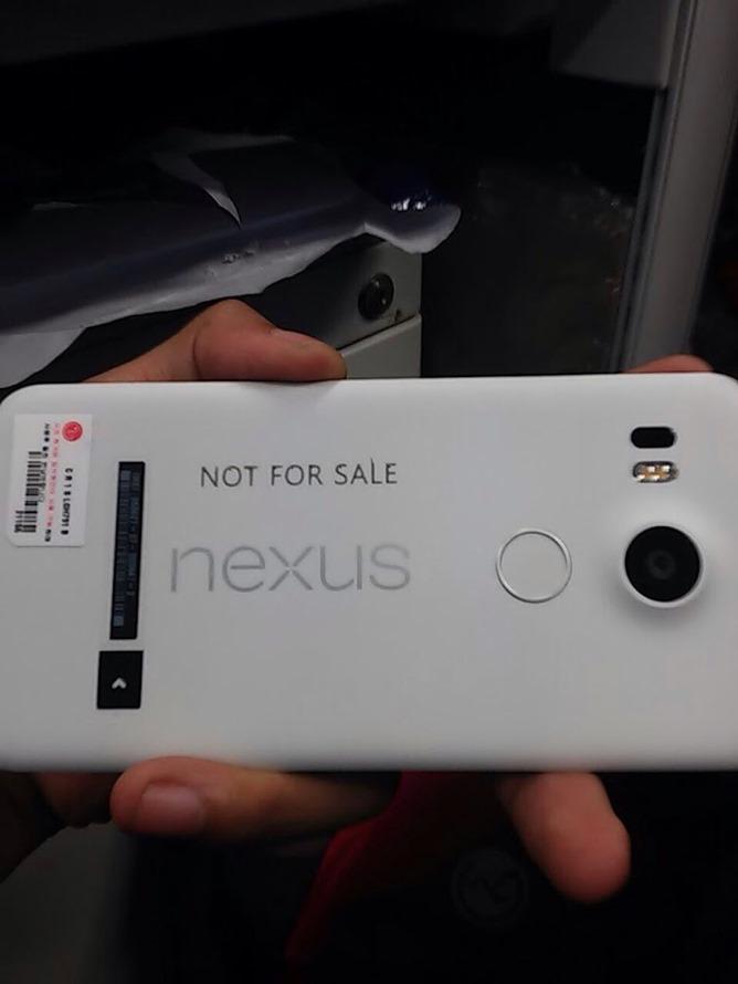nieuwe lg nexus 5 foto