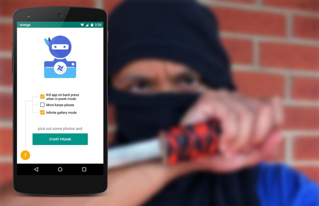 Deze practical joke-app maakt stiekem foto's van je slachtoffer