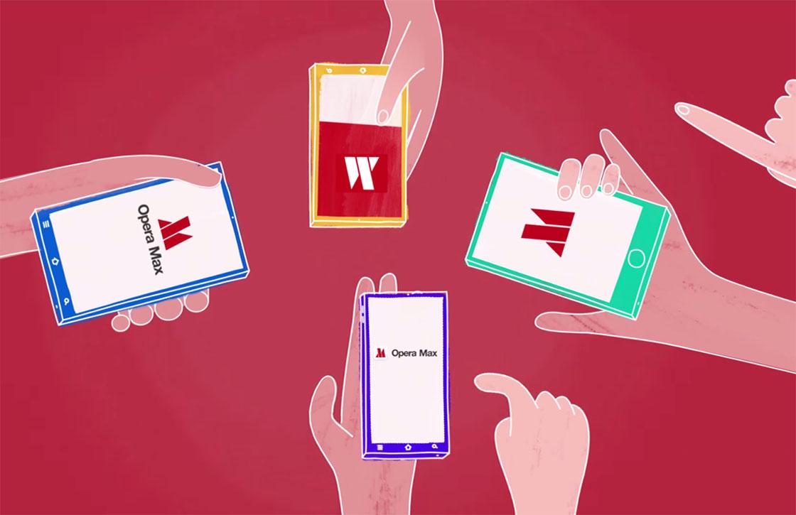 Vernieuwde Opera Max-browser laat je nog meer data besparen