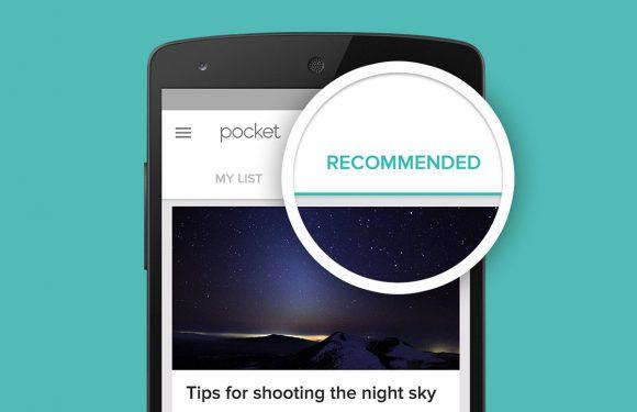 Later lezen-app Pocket raadt voortaan artikelen aan