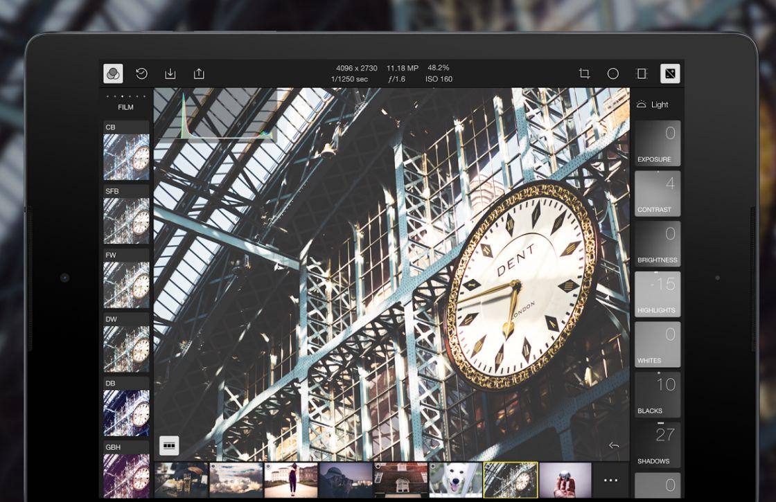 Professioneel foto's bewerken met het gratis Polarr Photo Editor