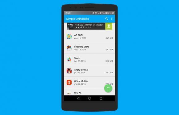 Tip: zo verwijder je meerdere Android-apps in één keer