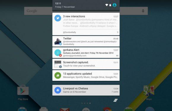 Een lofzang voor… het notificatiesysteem van Android