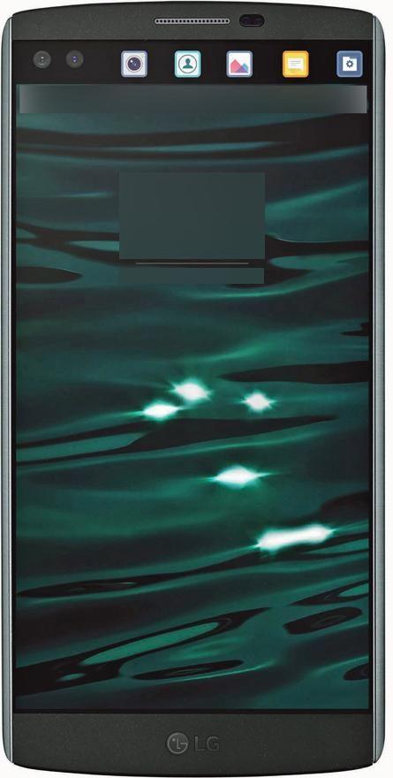 LG V10 scherm