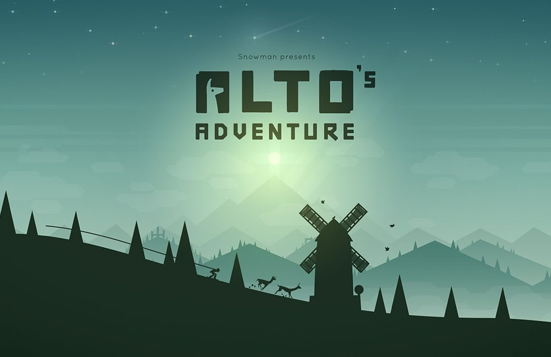Prachtige iOS-game Alto's Adventure gratis voor Android