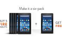 Zo goedkoop: Amazon verkoopt nieuwe tablet als sixpack