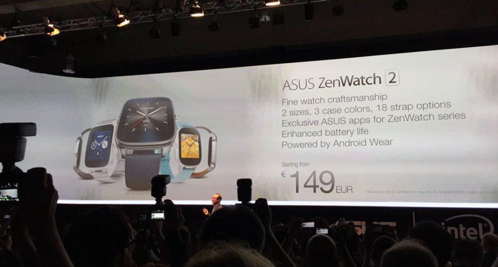 asus zenwatch 2 officieel