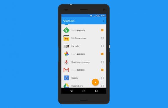 Word productiever door apps te blokkeren met ClearLock