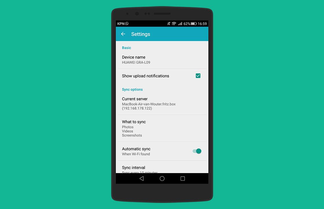 Daemon Sync: simpel bestanden delen tussen je Android en pc