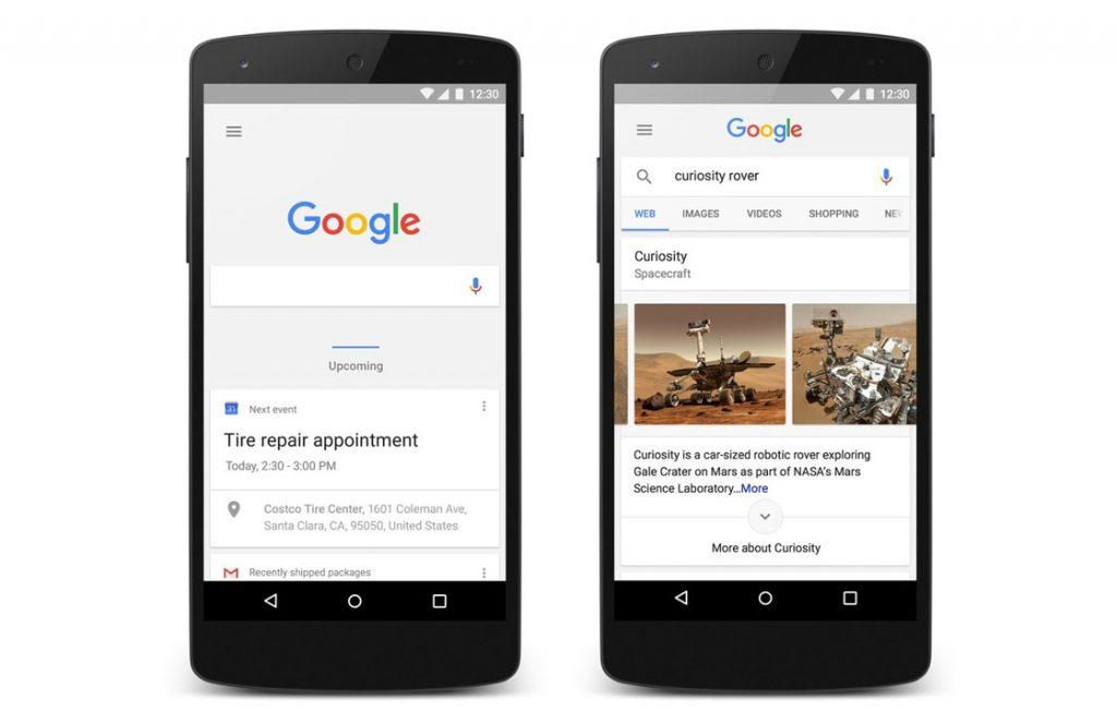 google now vernieuwd