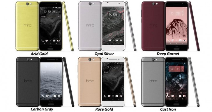 htc one a9 renders