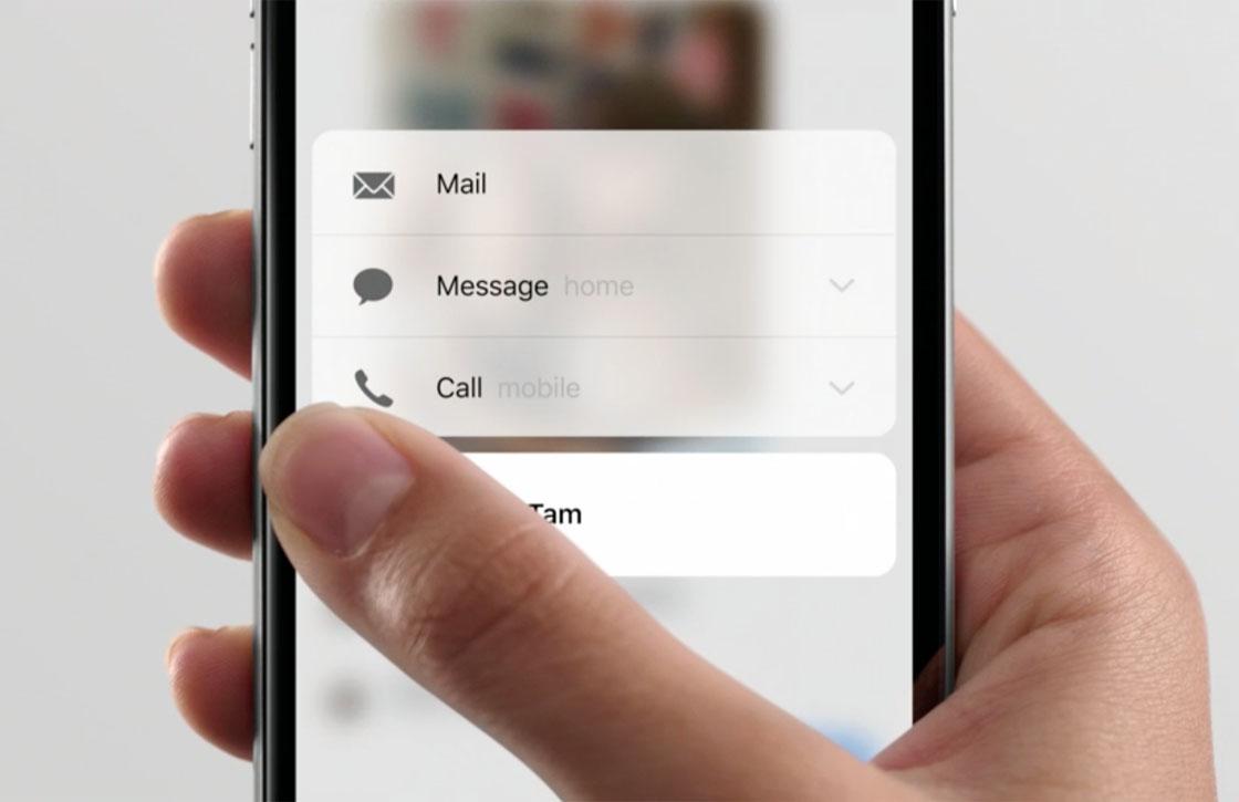 6 features die de iPhone 6S heeft 'geleend' van Android