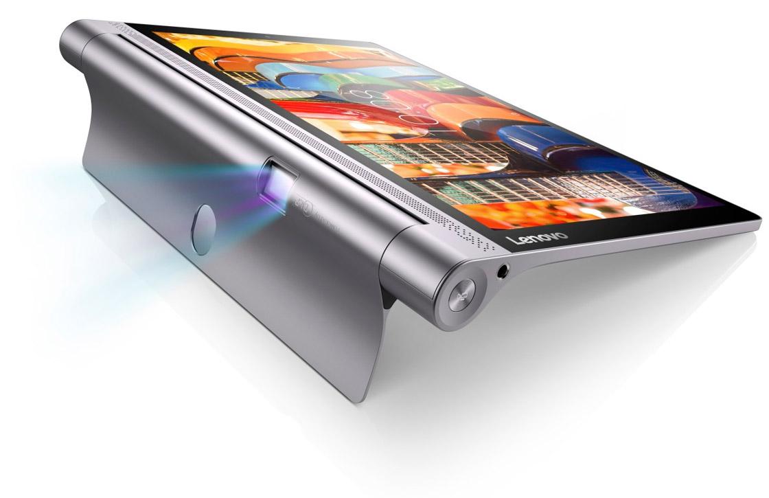 Lenovo presenteert Android-tablet met beamer en enorme accu