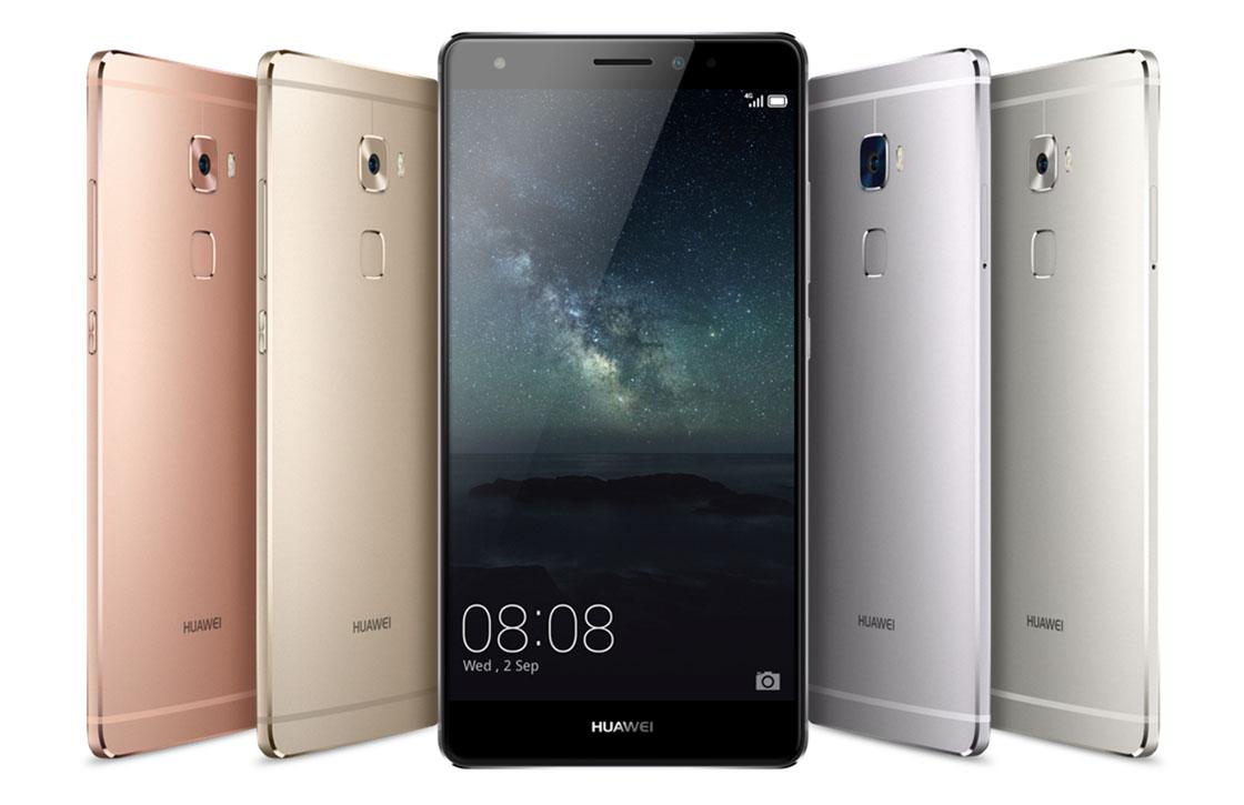Huawei presenteert Mate S met drukgevoelig 5,5 inch-scherm – update