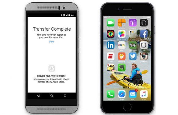 Apple brengt overstap-app Move to iOS uit voor Android