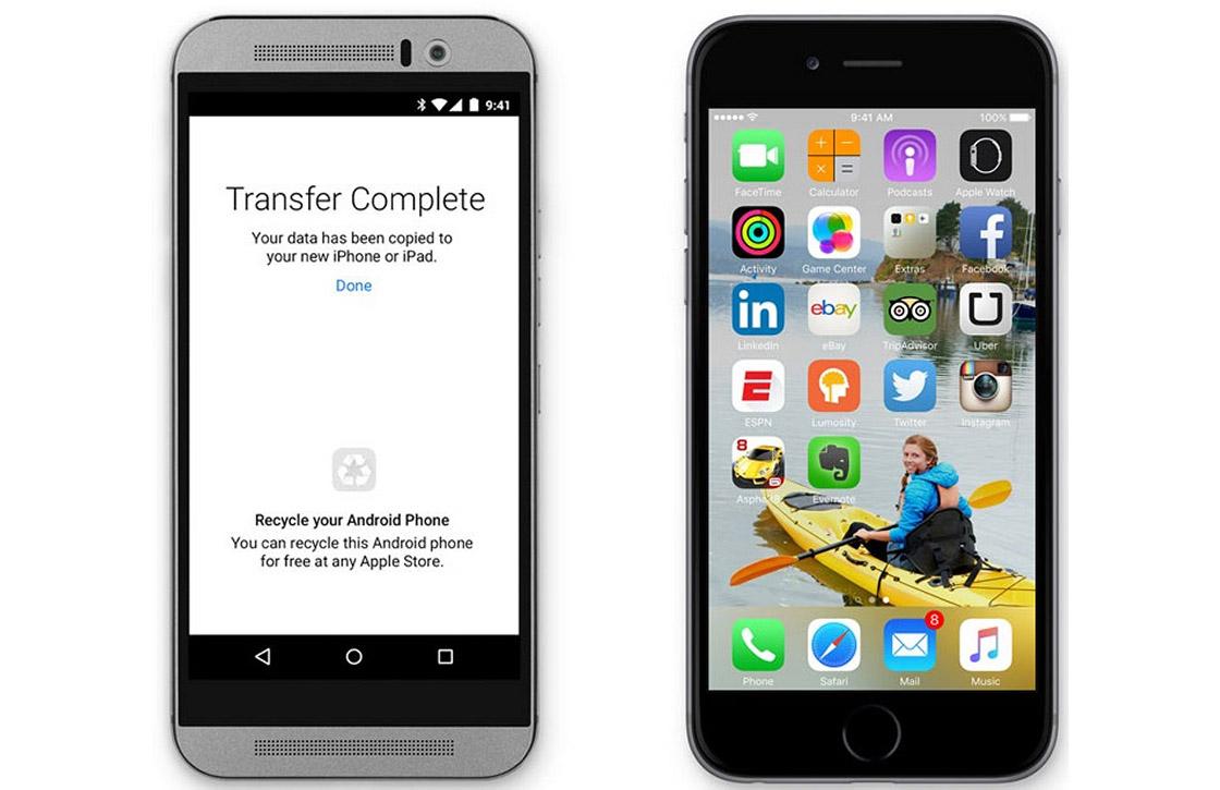 Apples eerste Android-app is kopie van bestaande app