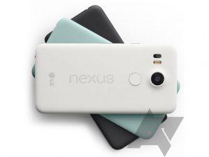 Nexus 5X kleuren