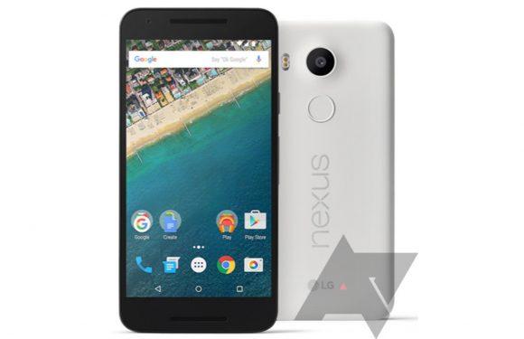 'Nexus 5X en 6P opnieuw gelekt, komen in verschillende kleuren'