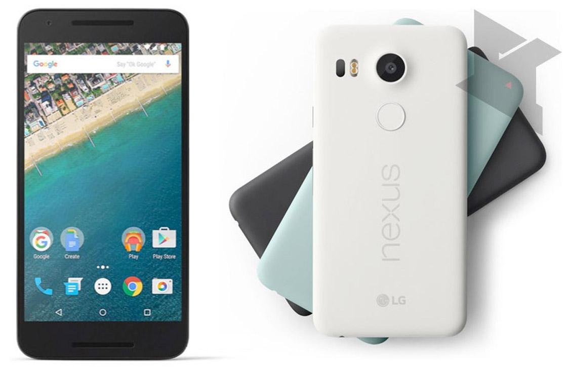 'Nexus 5X verschijnt later in Nederland en wordt duurder'