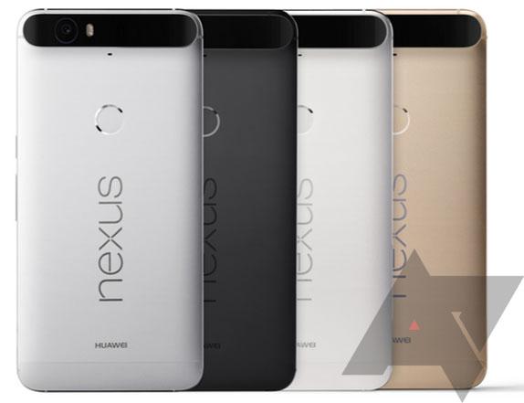 Nexus 6L kleuren