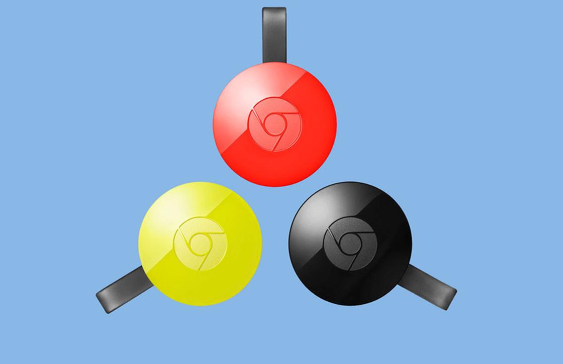 Chrome nu voorzien van ingebouwde Google Cast-ondersteuning