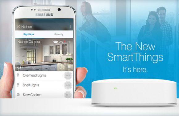 Bedien al je slimme gadgets met Samsungs nieuwe SmartThings-hub