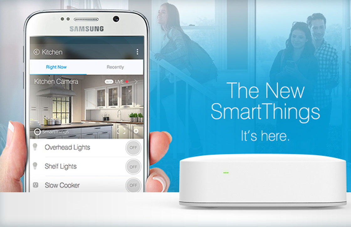 google home smartthings