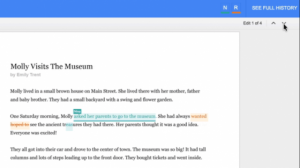 see new changes google docs