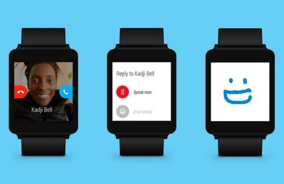 Dit kun je met Skype voor Android Wear