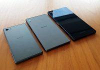 Eerste foto's Sony Xperia Z5, Z5 Premium en Z5 Compact lekken uit