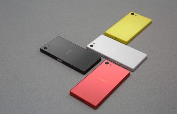 'Sony presenteert volgende maand vijf nieuwe smartphones'