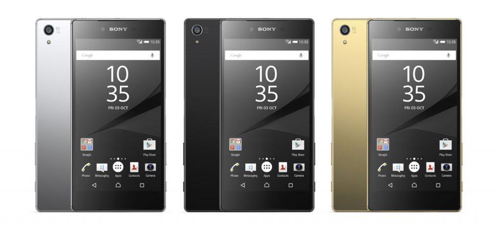 sony xperia z5 premium officieel