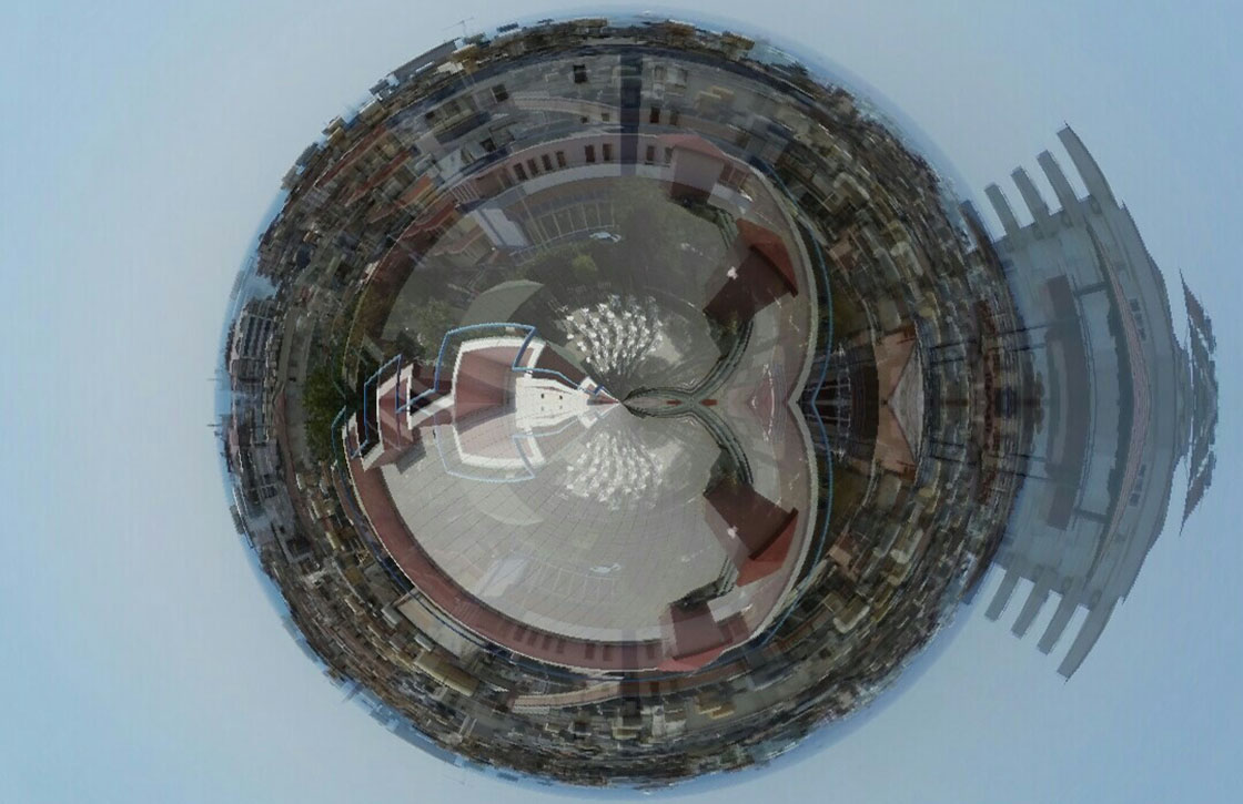 Spherify maakt fraaie planeten van je panoramafoto's